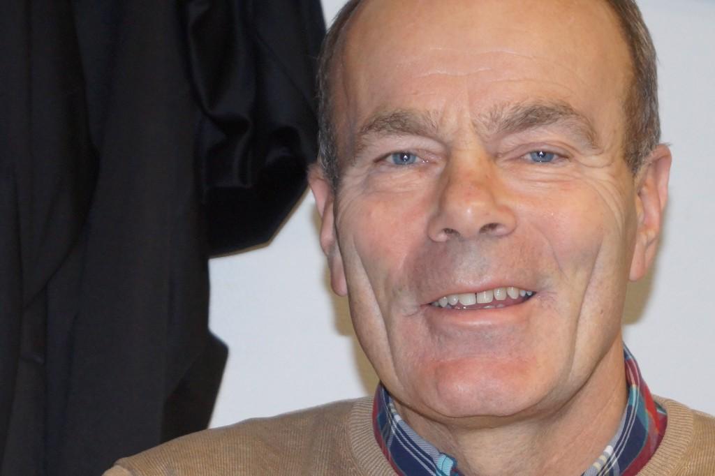 Janne Möller vill utbilda nya målvaktstalanger med datorns hjälp. Foto: Ole Törner