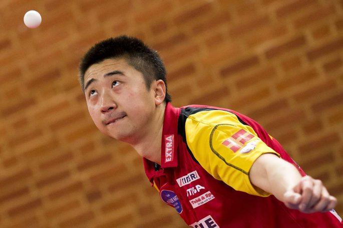 Xu Hui är superstjärnan som kan göra Eslövs AI historiskt i den kommande Champions League-finalen. Foto: Bildbyrån