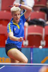 Matilda Ekholm, också klar för OS. Foto: Bildbyrån