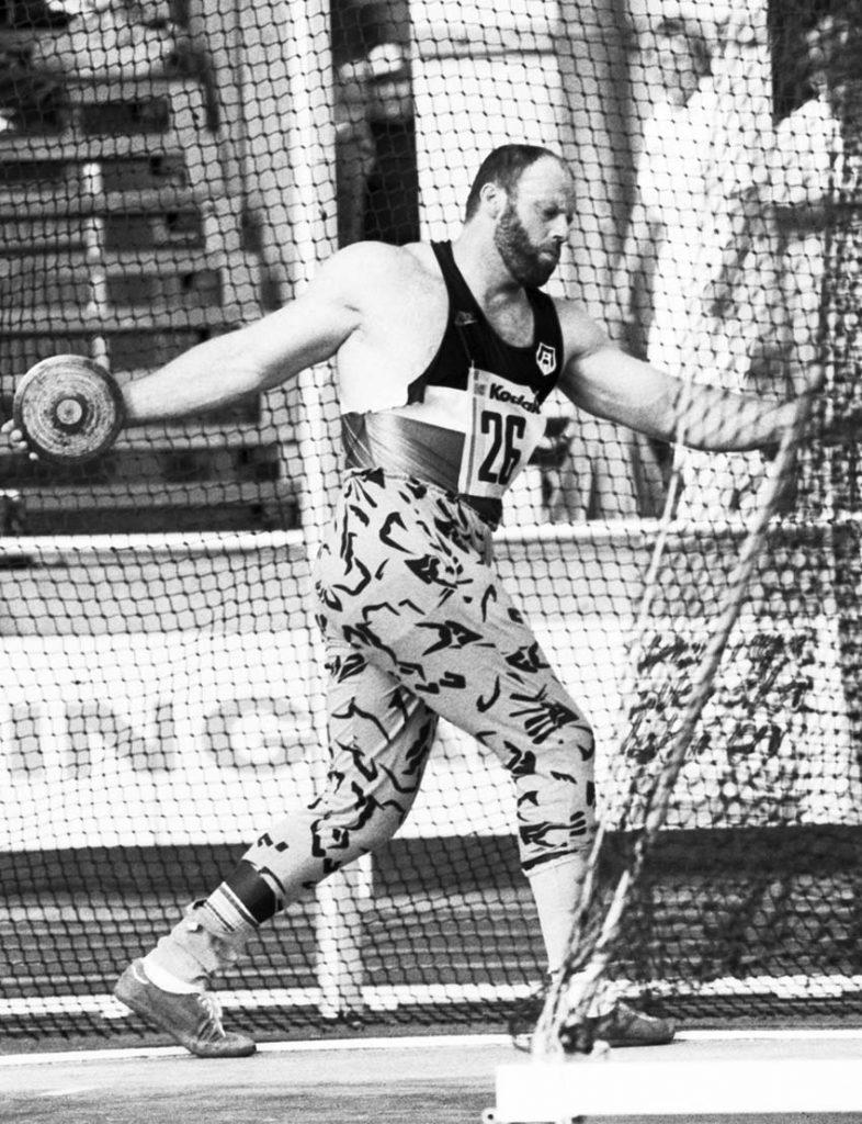 Ricky Bruch i stöten när det begav sig på det glada 1980-talet. Foto: Bildbyrån