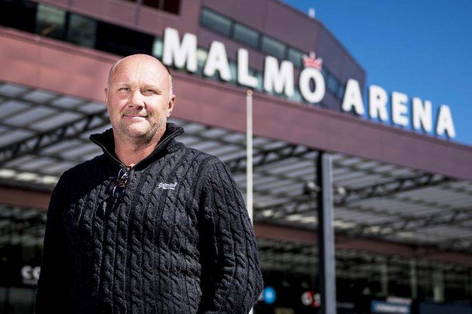 """Peter Andersson har både full utbildning och egen erfarenhet: """"Jag kan sätta mig in i de flesta roller och vet vad mina spelare går igenom och drivs utav"""".  Foto: Bildbyrån"""