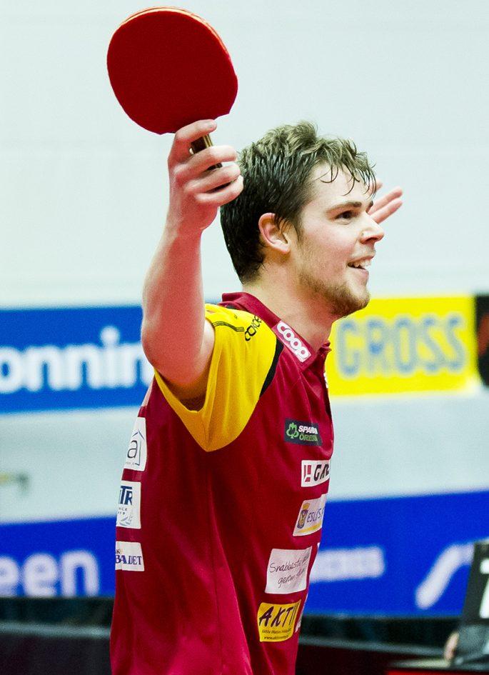 Mattias Översjö kommer att fortsätta träna med Eslövs AI trots att han spelar i polska ligan. Foto: Bildbyrån
