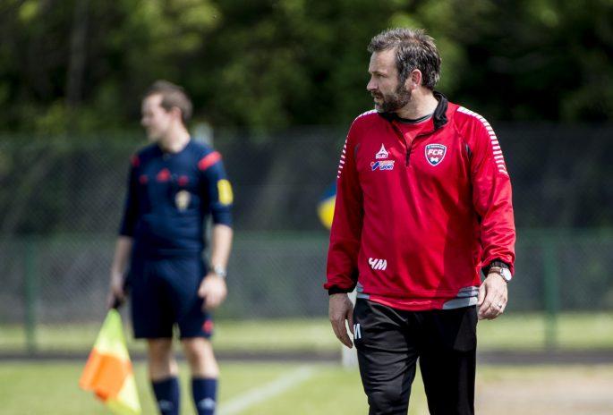 Hasse Mattisson, här i FC Rosengårds tröja,vill aldrig skylla en förlust på domaren. Foto: Bildbyrån