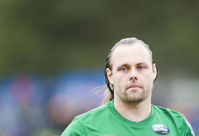 Fritz Persson vill bli målvaktstränare efter karriären. Foto: Bildbyrån