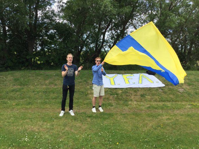 IFK Klagshamns läktarkultur duger högt upp i seriesystemet.
