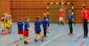 Knattarna ska få testa på att spela handboll i tidig ålder.