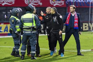 Fotboll, Kval till Allsvenskan, Helsingborg - Halmstad