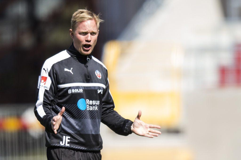 160506 Assisterande trŠnare Jonas Eidevall under en fotbollstrŠning med Helsingborg den 6 maj 2016 i Helsingborg. Foto: Petter Arvidson / BILDBYRN / kod PA / 91386