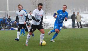 Fitim Zeneli, ny i Hörby FF från Snogeröd. I en träningsmatch nyligen spelade lagen 1-1.