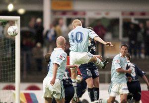 I MFF år 2000 bildade Lilienberg anfallspar med Zlatan.