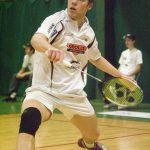 070204 Badminton, SM: Magnus Sahlberg, Fršlunda, Šr klar fšr final. © BildbyrŒn - 287xx - Foto: Rickard Nilsson