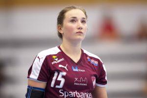 160511 Lugis Olivia Lšfqvist under Semifinal 4 i Elitserien mellan Lugi och SŠvehof den 11 maj 2016 i Lund. Foto: Avdo Bilkanovic / BILDBYRN / COP 115