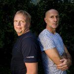 160906 Hššrs HK H65 trŠnare Ola MŒnsson och Lugis trŠnare Dragan Brljevic poserar fšr ett portŠtt under handbollens upptaktstrŠff den 6 september 2016 i Malmš. Foto: Petter Arvidson / BILDBYRN / kod PA / 91476