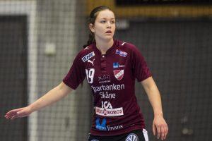 160928 Lugis Julia Olsson under handbollsmatchen i SHE mellan Lugi och VŠsterŒsIrsta den 28 september 2016 i Lund. Foto: Petter Arvidson / BILDBYRN / kod PA / 91494