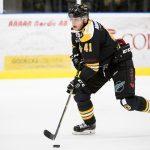 161204 Panterns Johan Bj?rk under ishockeymatchen i Hockeyallsvenskan mellan Pantern och AIK den 4 december 2016 i Malm?. Foto: Petter Arvidson / BILDBYR�N / kod PA / 91530