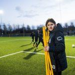 170112 Tr?nare Agim Sopi under en fotbollstr?ning med Landskrona den 12 januari 2017 i Landskrona. Foto: Ludvig Thunman / BILDBYR�N / kod LT / 35275
