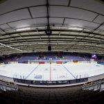 150401 Interišr Malmš Isstadion infšr kvartsfinalen under Dam-VM i ishockey mellan Ryssland och Sverige den 1 april 2015 i Malmš.  Foto: Petter Arvidson / BILDBYRN / kod PA / 91105