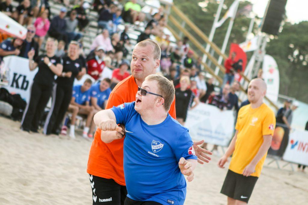Vimmelbilder från Åhus Beachhandboll Festival 2017