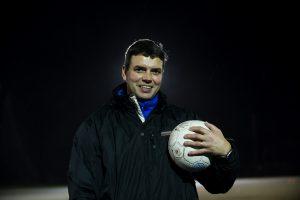 091125 Fotboll, Mikael Gšransson, ungdomsledare, Tomelilla IF: (Ungdom, Ledare, TrŠnare) © BildbyrŒn - 63301