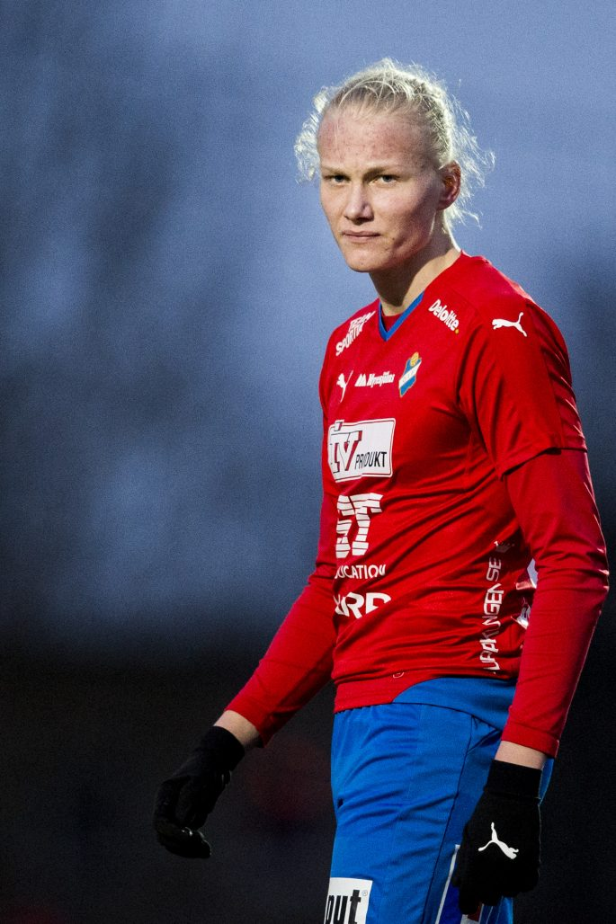 160324 …sters Filip …rnblom under en trŠningsmatch i fotboll mellan Landskrona och …ster den 24 mars 2016 i Landskrona. Foto: Petter Arvidson / BILDBYRN / kod PA / 91350