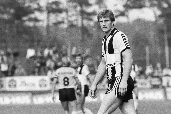 800903 Fotboll, Allsvenskan, MjŠllby - Landskrona: Sonny Johansson, Landskrona. ©ÊBildbyrŒn - 4741