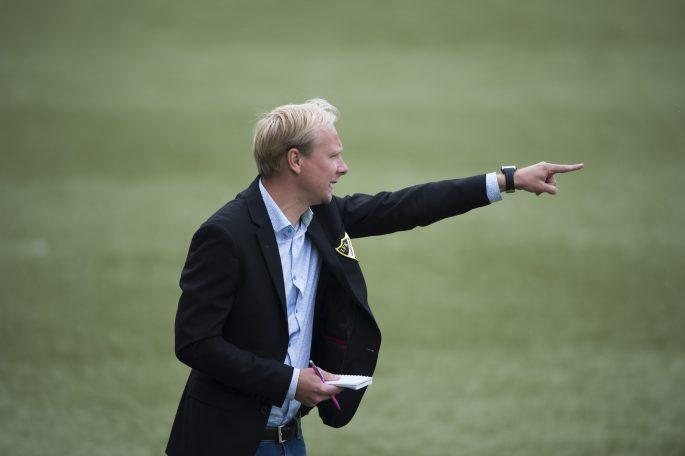 160813 IFK HŠssleholms trŠnare Daniel Nilsson i matchen i division 2 mellan IFK Malmš och IFK HŠssleholm i Malmš 13 augusti 2016.   Foto: Lennart MŒnsson / BILDBYRN  / kod LM / 64937