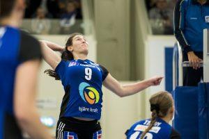 171008 Engelholms Emily Sklar under volleybollmatchen i Elitserien mellan Engelholm och Degerfors den 8 oktober 2017 i €ngelholm. Foto: Mathilda Ahlberg / BILDBYRN / Cop 178