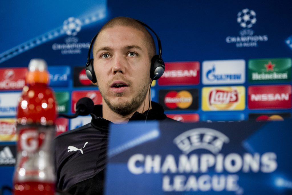 150929 Malmšs Anton Tinnerholm under en presskonferens infšr Champions League den 29 september 2015 i Malmš. Foto: Petter Arvidson / BILDBYRN / kod PA / 91224